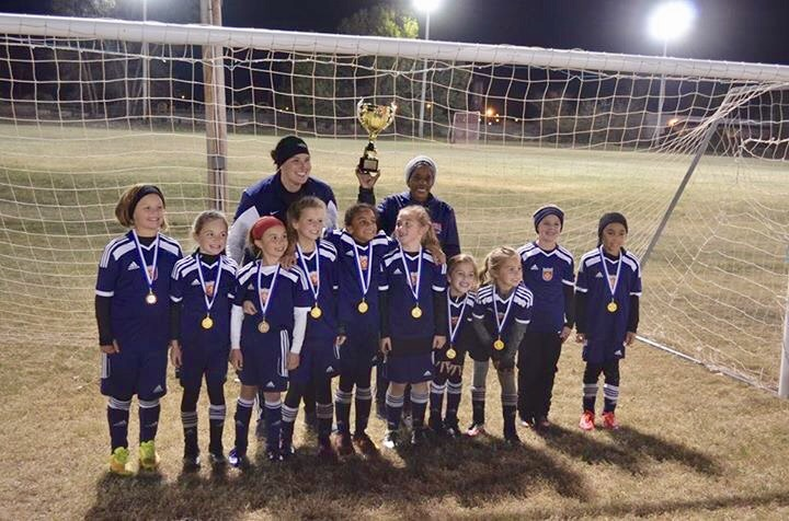Claremore WSA 08 Girls ACS Champions