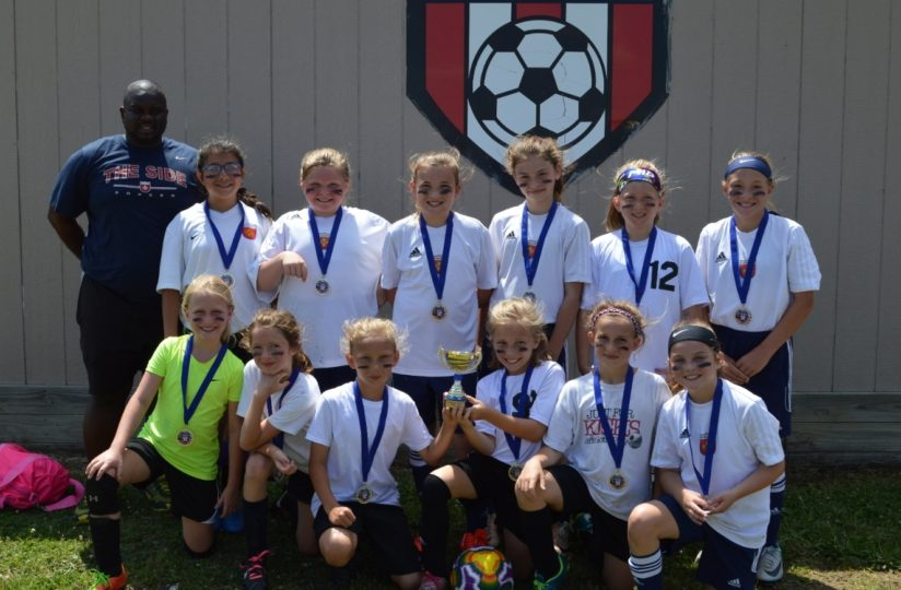Claremore WSA 07 Girls Claremore Invitational Champions